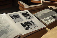 Historische Fotos von  Rodelbauer Dietmar Martin in Sonthofen-Tiefenbach im Allg&auml;u, Bayern, Deutschland<br /> historical photographs of  sledge maker Dietmar Martin  in Sonthofen-Tiefenbach , Allg&auml;u, Bavaria, Germany