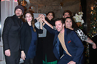 NEW YORK, NY - DECEMBER 9: Michael Gracey Rebecca Ferguson,Zendaya, Zac Efron, Keala Settle pictured as the cast of The Greatest Showman attend the Empire State Building in New York City on December 9, 2017. Credit: RW/MediaPunch /nortephoto.com NORTEPHOTOMEXICO