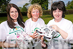 The Rogers family in Tralee are planning to complete the Dublin  mini-marathon on June 7 to raise funds for Parkinsons Association of Ireland. .L-R Judy Dillane,  Joan Rogers and Ann Rogers preparing for the 10km womens mini-marathon