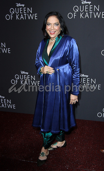 """20 September 2016 - Hollywood, California - Mira Nair. """"Queen Of Katwe"""" Los Angeles Premiere held at the El Capitan Theater in Hollywood. Photo Credit: AdMedia"""