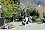 Don and Carolyn Yacktman's children who are attending BYU. Rob and Nicole and Nicholis (baby) Yacktman. Mike Yacktman..September 22, 2005..Photography by Mark A. Philbrick