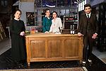"Inma Alcantara , Yara Puebla, Giulia Charm and Jaime Lorente during the presentation of the new characters for the new season of the tv series ""El Secreto de Puente Viejo""  in Madrid, February 10, Madrid."