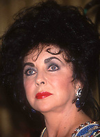 Liz Taylor1990.JPG<br /> Celebrity Archaeology <br /> New York City<br /> 1992 FILE PHOTO<br /> Liz Taylor<br /> Photo by Adam Scull-PHOTOlink.net