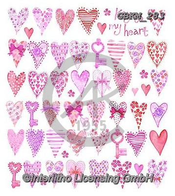 Kate, WEDDING, HOCHZEIT, BODA, valentine, Valentin, paintings+++++Feminine page 16,GBKM283,#W#,#V#, EVERYDAY ,valentine,hearts