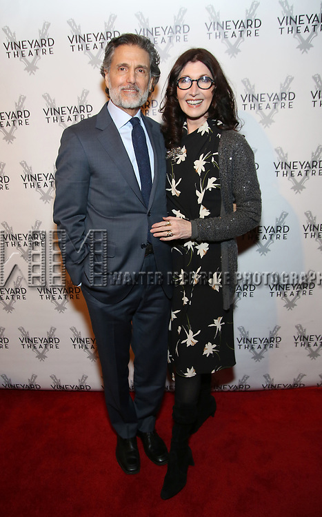 Chris Sarandon and Joanna Gleason attends the Vineyard Theatre 2017 Gala at the Edison Ballroom on March 14, 2017 in New York City.