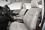 Front seat view of 2017 Toyota Sienna Limited 5 Door Minivan Front Seat  car photos