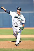 Phillippe Aumont - Peoria Javelinas, 2009 Arizona Fall League.Photo by:  Bill Mitchell/Four Seam Images..