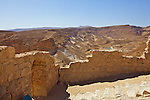 Byzantine West Gate Of Masada