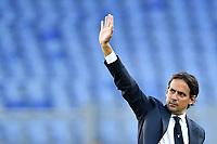 Simone Inzaghi coach of SS Lazio   <br /> Roma 29-9-2019 Stadio Olimpico <br /> Football Serie A 2019/2020 <br /> SS Lazio - Genoa CFC <br /> Foto Andrea Staccioli / Insidefoto