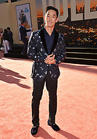"""LOS ANGELES, USA. July 23, 2019: Mike Moh at the premiere of """"Once Upon A Time In Hollywood"""" at the TCL Chinese Theatre.<br /> Picture: Paul Smith/Featureflash"""