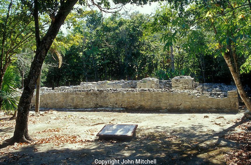 Xel-Ha Archaeological Site, El Palacio, Quintana Roo, Mexico