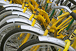 Rental bike pattern.