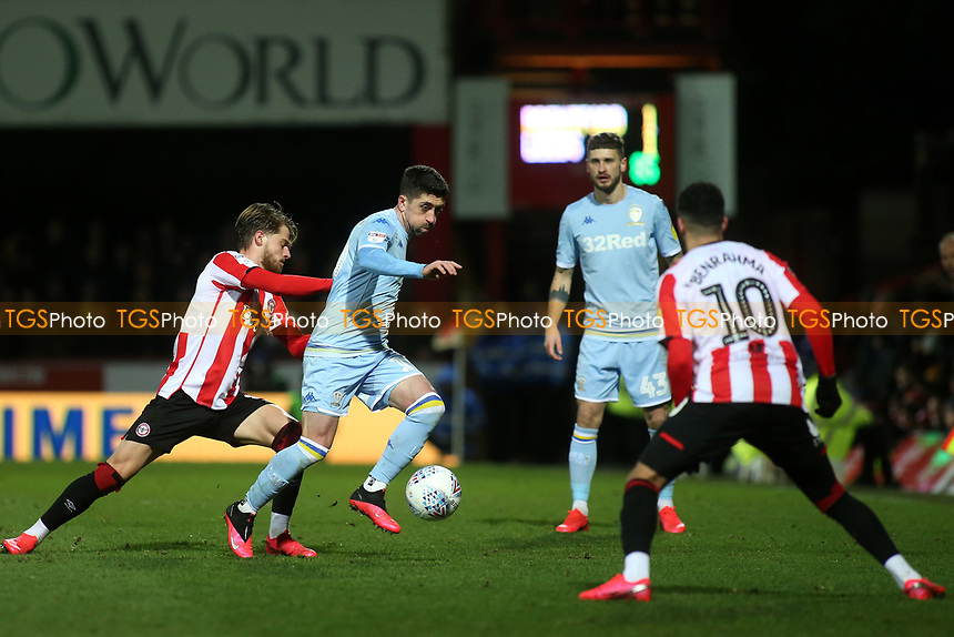 Pablo Hernandez of Leeds United in action during Brentford vs Leeds United, Sky Bet EFL Championship Football at Griffin Park on 11th February 2020