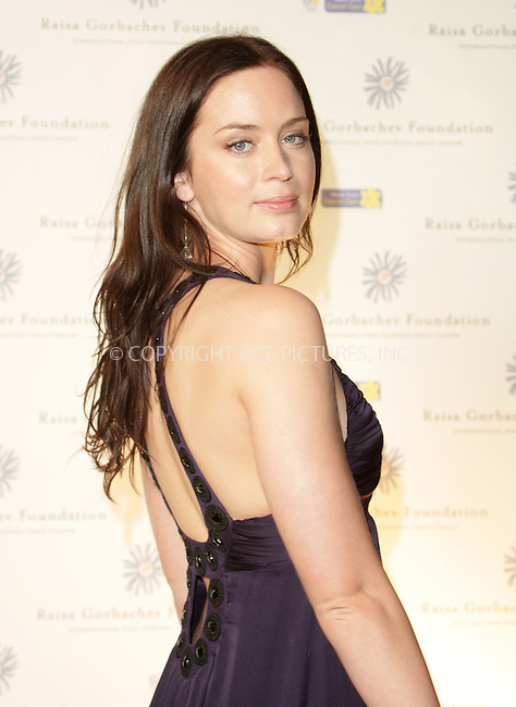 Emily Blunt at Raisa Gorbachev's Russian Midsummer Fantasy gala at Hampton Court Palace - 07 June 2008..FAMOUS PICTURES AND FEATURES AGENCY 13 HARWOOD ROAD LONDON SW6 4QP UNITED KINGDOM tel +44 (0) 20 7731 9333 fax +44 (0) 20 7731 9330 e-mail info@famous.uk.com www.famous.uk.com.FAM23263