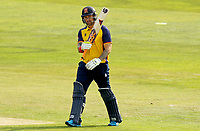 Cameron Delport of Essex celebrates scoring fifty runs during Essex Eagles vs Surrey, Vitality Blast T20 Cricket at The Cloudfm County Ground on 11th September 2020