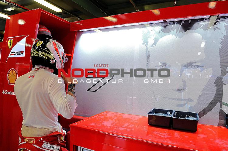 Kimi Raikkonen (FIN), Scuderia Ferrari<br /> for the complete Middle East, Austria &amp; Germany Media usage only!<br />  Foto &copy; nph / Mathis