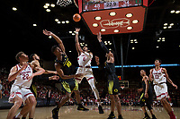 Stanford, CA - February 03, 2018. Stanford Men's Basketball vs Oregon. Stanford won 96-61.