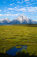 Grand Tetons mountain range, Jackson, Wyoming, National Park, USA