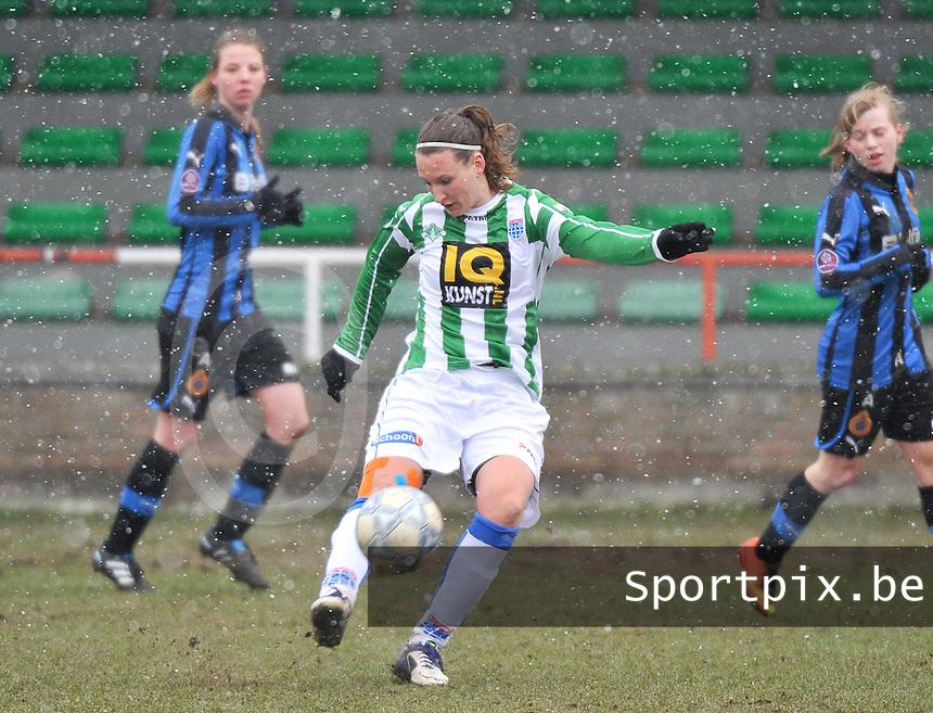 Club Brugge Dames - PEC Zwolle : Lisanne Vermeulen.foto DAVID CATRY / Vrouwenteam.be