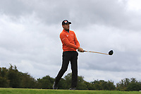 Joel Girrbach (SUI) on the 11th tee during Round 4 of the Bridgestone Challenge 2017 at the Luton Hoo Hotel Golf &amp; Spa, Luton, Bedfordshire, England. 10/09/2017<br /> Picture: Golffile | Thos Caffrey<br /> <br /> <br /> All photo usage must carry mandatory copyright credit     (&copy; Golffile | Thos Caffrey)