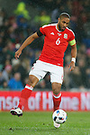 Ashley Williams of Wales during the international friendly match at the Cardiff City Stadium. Photo credit should read: Philip Oldham/Sportimage