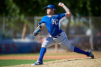 Kansas City Royals pitcher Luis Rico (26) during an Instructional League game against the Texas Rangers on October 4, 2016 at the Surprise Stadium Complex in Surprise, Arizona.  (Mike Janes/Four Seam Images)