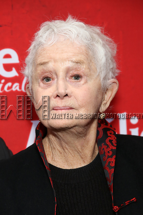 Barbara Barrie attends the Broadway Opening Night performance of 'Amelie' at the Walter Kerr Theatre on April 3, 2017 in New York City