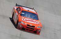 Jun 1, 2008; Dover, DE, USA; NASCAR Sprint Cup Series driver Kyle Busch during the Best Buy 400 at the Dover International Speedway. Mandatory Credit: Mark J. Rebilas-US PRESSWIRE