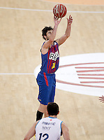 FC Barcelona Regal's Juan Carlos Navarro during Spanish Basketball King's Cup match.February 07,2013. (ALTERPHOTOS/Acero) /Nortephoto