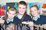 FUN WAY TO LEARN: If only all classes were this much fun - Listowel Community College Students of Junior Cert Schools Programme who took part in the Animal Magic Road Show at the school on Tuesday were Paul Stack, Andrew Nihill and Kevin Murphy, all Listowel.   Copyright Kerry's Eye 2008