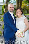 Muirean Ni Luing and Dean McDonnell were married at St. Vincents by Fr. Eoghan Kiely on Friday 28th April 2017 with a reception at Ballygarry House Hotel