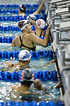 BIRMINGHAM, AL - MARCH 11: Bailee Nunn of Drury University races to a first place finish in the 200 yard breaststroke during the Division II Men's and Women's Swimming & Diving Championship held at the Birmingham CrossPlex on March 11, 2017 in Birmingham, Alabama. (Photo by Matt Marriott/NCAA Photos via Getty Images)