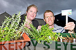 HERBS: Teresa and John Richard Deane from Castlemaine who have started their own customised herb boxes business.