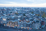 Blic auf Altstadt von Amsterdam