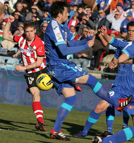 08.01.2012 Getafe, SPAIN -  La Liga match played between Getafe and Athletic at Coliseum Alfonso Perez stadium. the picture shows Iker Muniain