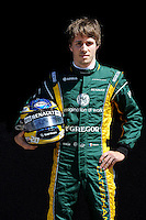 CATERHAM RENAULT FRENCH DRIVER, CHARLES PIC. .Melbourne 16/03/2013 .Formula 1 Gp Australia.Foto Insidefoto.ITALY ONLY .Posato Ritratto Pilota