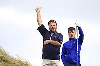 Sam Murphy (Portumna) waiting on the 16th during Round 2 of The East of Ireland Amateur Open Championship in Co. Louth Golf Club, Baltray on Sunday 2nd June 2019.<br /> <br /> Picture:  Thos Caffrey / www.golffile.ie<br /> <br /> All photos usage must carry mandatory copyright credit (© Golffile   Thos Caffrey)