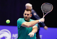 Rotterdam, Netherlands, December 15, 2017, Topsportcentrum, Ned. Loterij NK Tennis, Wheelchair Ricky Mollier (NED)<br /> Photo: Tennisimages/Henk Koster