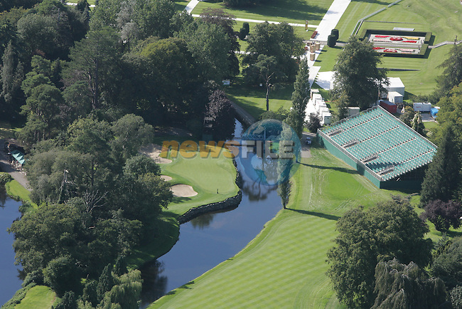 Final preparations are made for 2006 Ryder cup at the K Club in Straffin Co Kildare. An ariel view of the club..Hole by Hole details will be added in the next few hours..Photo: Fran Caffrey/ Newsfile.