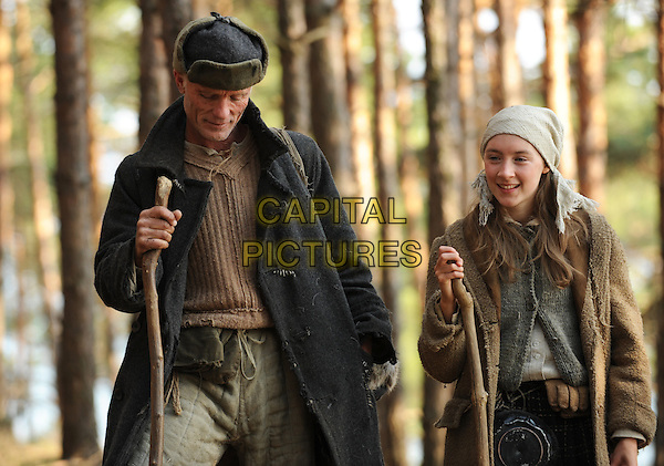 Ed Harris & Saoirse Ronan.in The Way Back.*Filmstill - Editorial Use Only*.CAP/PLF.Supplied by Capital Pictures.