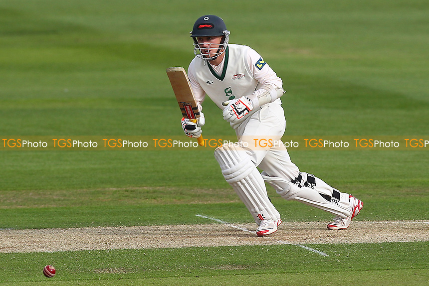 Angus Robson in batting action for Leicestershire - Essex CCC vs Leicestershire CCC - LV County Championship Division Two Cricket at the Ford County Ground, Chelmsford - 05/05/14 - MANDATORY CREDIT: Gavin Ellis/TGSPHOTO - Self billing applies where appropriate - 0845 094 6026 - contact@tgsphoto.co.uk - NO UNPAID USE