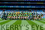 Kerry Team before the Kerry v Derry in the All-Ireland Minor Footballl Final in Croke Park on Sunday.