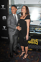 www.acepixs.com<br /> <br /> May 9 2017, LA<br /> <br /> Theo Rossi and Meghan McDermott Rossi arriving at the premiere of 'Lowriders' on May 09, 2017 in Los Angeles, California. <br /> <br /> By Line: Peter West/ACE Pictures<br /> <br /> <br /> ACE Pictures Inc<br /> Tel: 6467670430<br /> Email: info@acepixs.com<br /> www.acepixs.com