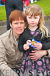 Pictured at Mighty Mikeys birthday party at Lee Strand on Saturday, from left: Martha Spillane and Laura Kate Spillane..
