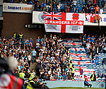 28.07.2019 Rangers v Derby County: Rangers and Derby fans