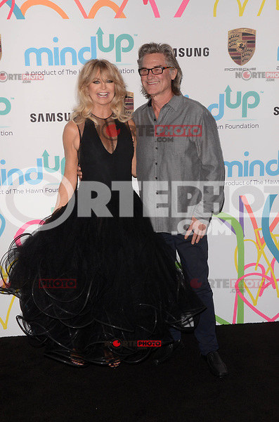 BEVERLY HILLS, CA - NOVEMBER 03: Goldie Hawn, Kurt Russell at Goldie's Love In For Kids at Ron Burkle's Green Acres Estate on November 3, 2017 in Beverly Hills, California. Credit: David Edwards/MediaPunch