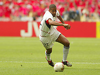 Tony Sanneh turns upfield. The USA tied South Korea, 1-1, during the FIFA World Cup 2002 in Daegu, Korea.