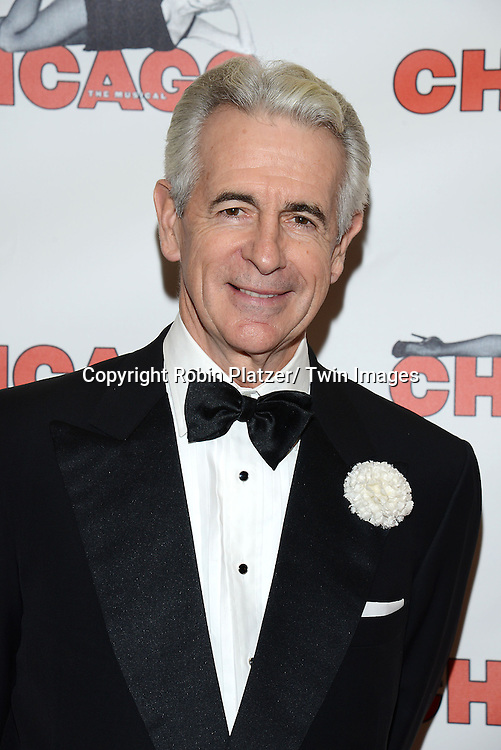 "James Naughton attends ""Chicago""  becoming the 2nd Longest Running Show on Broadway at performance 7486 on November 23, 2014 at the Ambassodor Theatre in New York City."