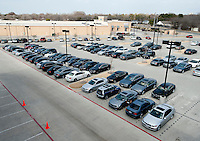 The BMW of Dallas, an AutoMotion Company, car dealership in Dallas, Texas, Thursday, February 17, 2011. Auto sales are going up because financing for auto loans has become available again...Photo by Matt Nager