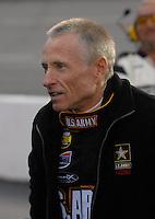 May 5, 2007; Richmond, VA, USA; Nascar Nextel Cup Series driver Mark Martin (01) prior to the Jim Stewart 400 at Richmond International Raceway. Mandatory Credit: Mark J. Rebilas